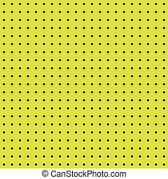 Seamless yellow peg board texture pattern