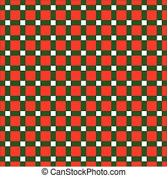 Seamless Christmas wrapping paper pattern. - Seamless...