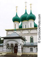 Fedorovsky cathedral in Yaroslavl, Russia - Yaroslavl,...