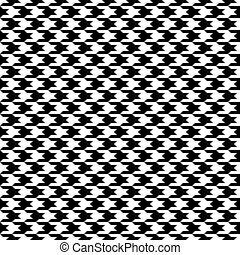 Seamless houndstooth pattern.