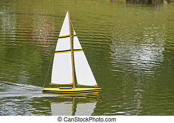 Remote Sailboat