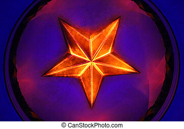 Photos background Soviet star - Photos background with...
