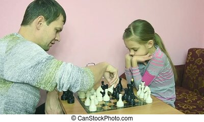 Pope explains daughter situation on the chessboard and that...