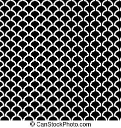 Abstract Seamless Art Deco Vector Pattern