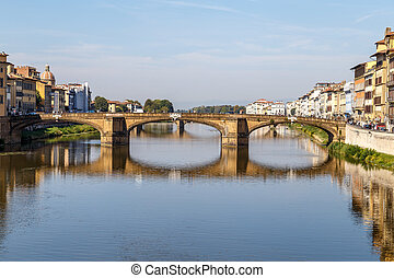 Ponte Santa Trinita over the Arno River