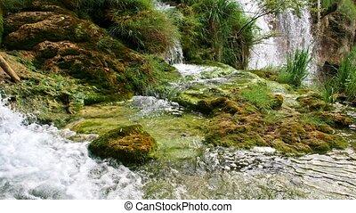 scenario, pittoresco, nazionale, parco, Laghi, plitvice,...