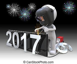 New Years 2017.