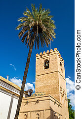 Church of Santa Catalina in Seville, Spain - Church of Santa...