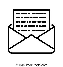 encrypted message illustration design