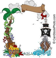 pirate, cadre