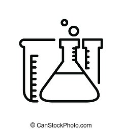 chemistry labolatory illustration design