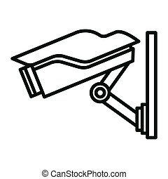 surveillance camera illustration design
