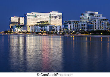 Tempe Arizona At Blue Hour - Tempe Arizona photographed from...
