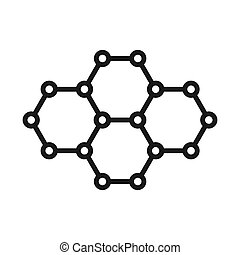 graphene technology illustration design