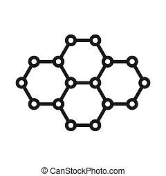 graphene technology illustration design
