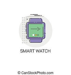 Wearable Tech Smart Watch Technology Electronic Device...
