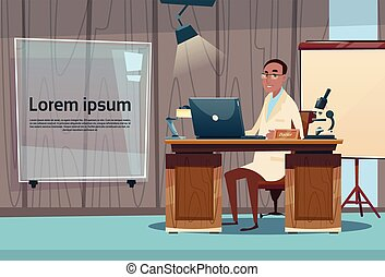 Doctor Professor Office Clinic Interior Workplace Hospital Medicine Care