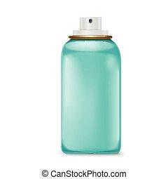 lovely blue spray bottle