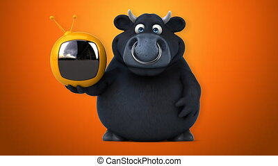 Black bull - 3D Animation