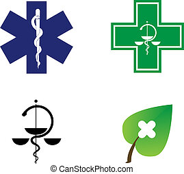 medical symbols illustration
