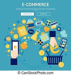E-commerce Online Shop Webpage Design