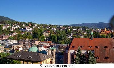 Baden-Baden in Sunny weather.