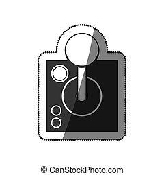 Isolated joystick videogame design - Joysitck icon....