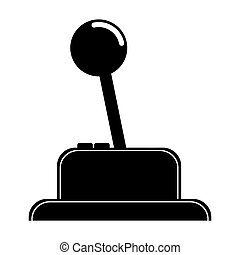 Isolated joystick videogame design - Joysitck icon....