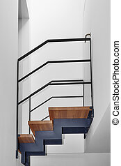 Design stairs and bridge in a modern home