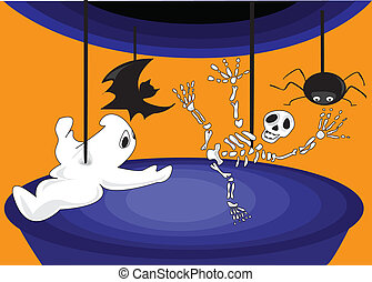 Halloween, a carousel of horror - Halloween Horror Carousel...