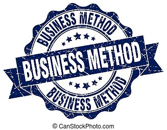 business method stamp. sign. seal