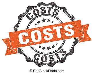costs stamp. sign. seal