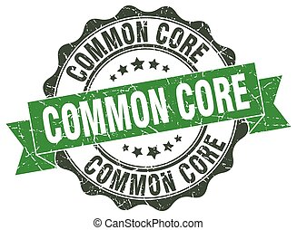 common core stamp. sign. seal