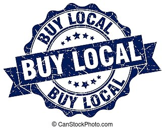 buy local stamp. sign. seal