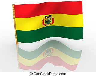 Bolivia. National Flag