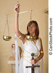 Libra zodiac sign - Libra or Scales, this photo is part of a...
