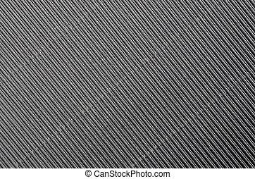 Crinkled cardboard background - Close up of gray crinkled...