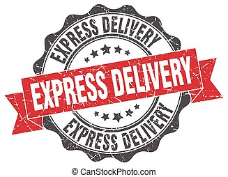 express delivery stamp. sign. seal