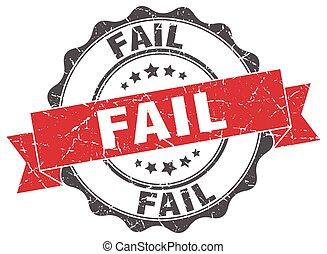 fail stamp. sign. seal
