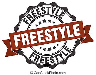 freestyle stamp. sign. seal