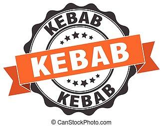 kebab stamp. sign. seal