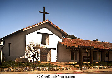 Historic Spanish Mission - The historic Spanish mission at...