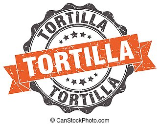 tortilla stamp. sign. seal