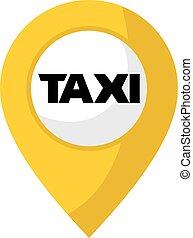 taxi zone symbol - design of taxi zone symbol