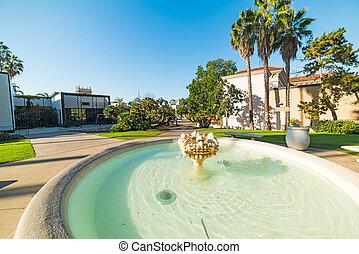 fountain in Balboa park