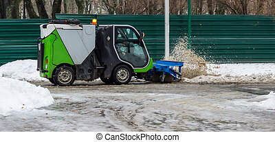 snow removal - in the winter a lot of snow and you need to...