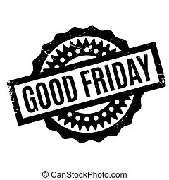Good Friday rubber stamp