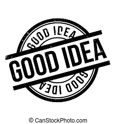 Good Idea rubber stamp
