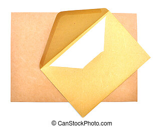ltter paper and envelope