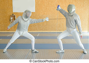 fencing competition event